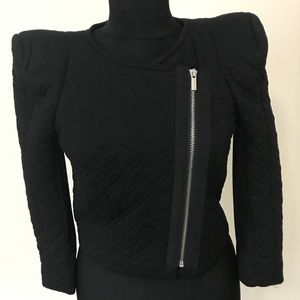 BCBGMaxAzria Quilted Cropped Jacket *XS*